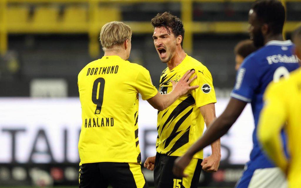 Mats Hummels Borussia Dortmund FC Schalke 04 3:0