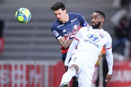 Lille remain second in Ligue 1 standings after a 1-1 draw against 10-men Lyon. Marcelo was shown red in the second half.
