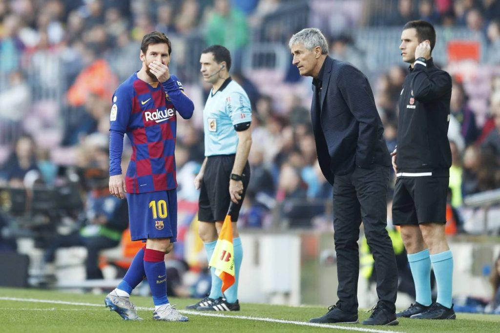 Ex-Barcelona manager Quique Setien compares Lionel Messi to Michael Jordan