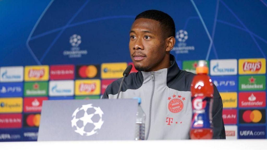 David Alaba FC Bayern München Pressekonferenz Salzburg