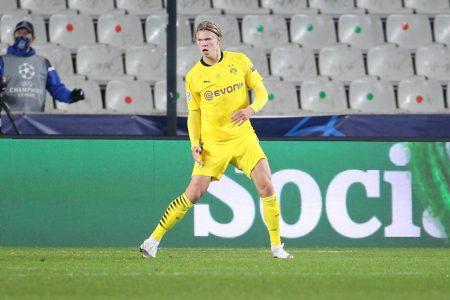 Erling Braut Haaland FC Brügge Borussia Dortmund 0:3