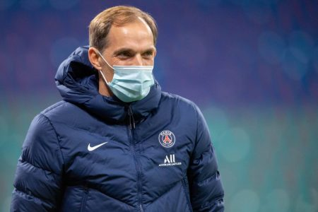PSG boss Thomas Tuchel looked unconcerned after his side lost second time in UEFA Champions League Group stage.