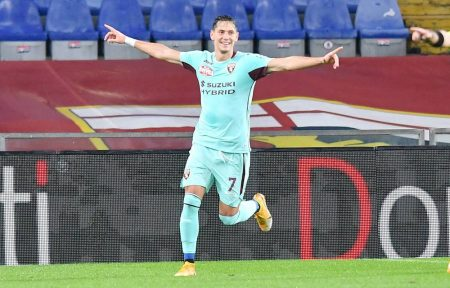 2-1 win over Genoa was Torino's first victory of Serie A season as they remain in relegation zone with four points.