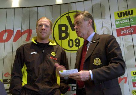 Matthias Sammer Ottmar Hitzfeld Borussia Dortmund FC Bayern München