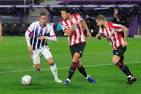 Real Valladolid recorder their first win of LaLiga season with a narrow 2-1 win over Athletic Bilbao at José Zorrilla.