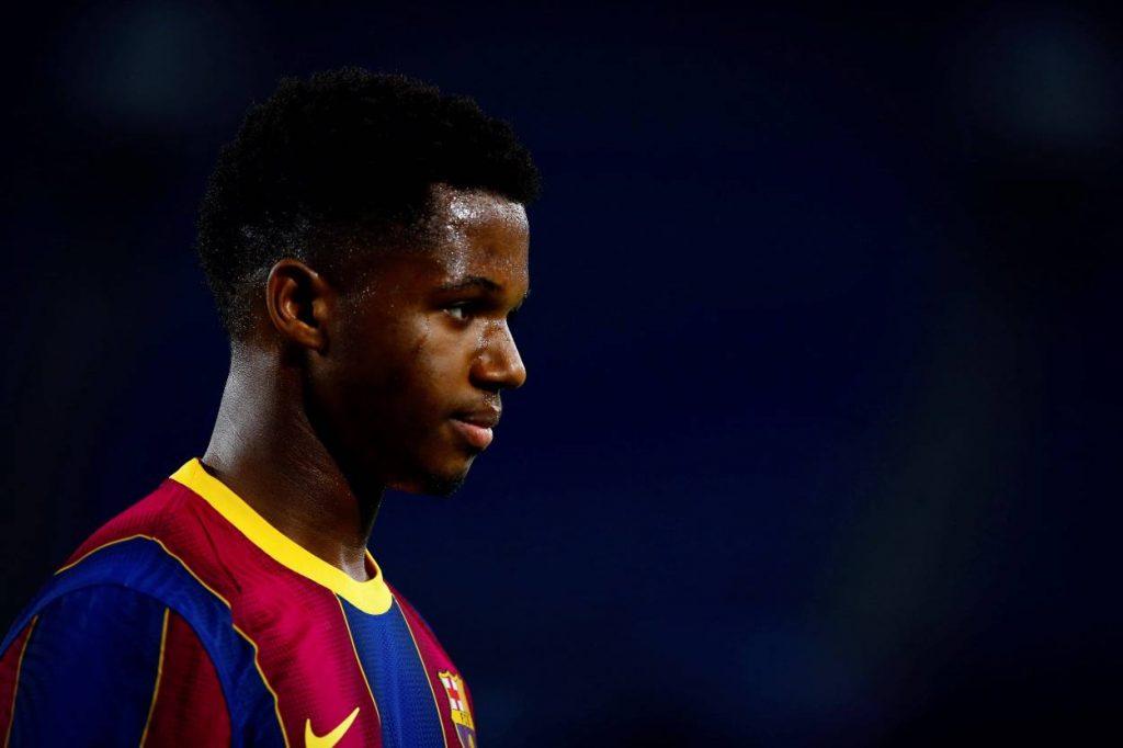 Barca dealt Ansu Fati injury blow