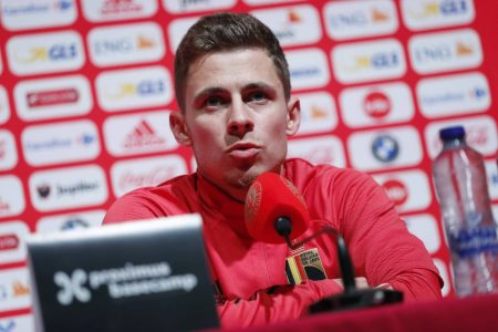 While talking to the media ahead of Belgium's UEFA Nations League campaign, Thorgan Hazard said that Belgium need 100% fit Hazard.