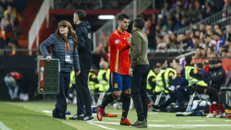 Spain boss Luis Enrique impressed by the recent form of Juventus striker Alvaro Morata ahead of UEFA Nations League fixtures.