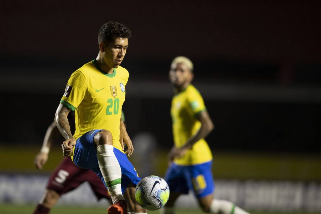 Roberto Firmino's winner was his fist goal in four matches for Brazil