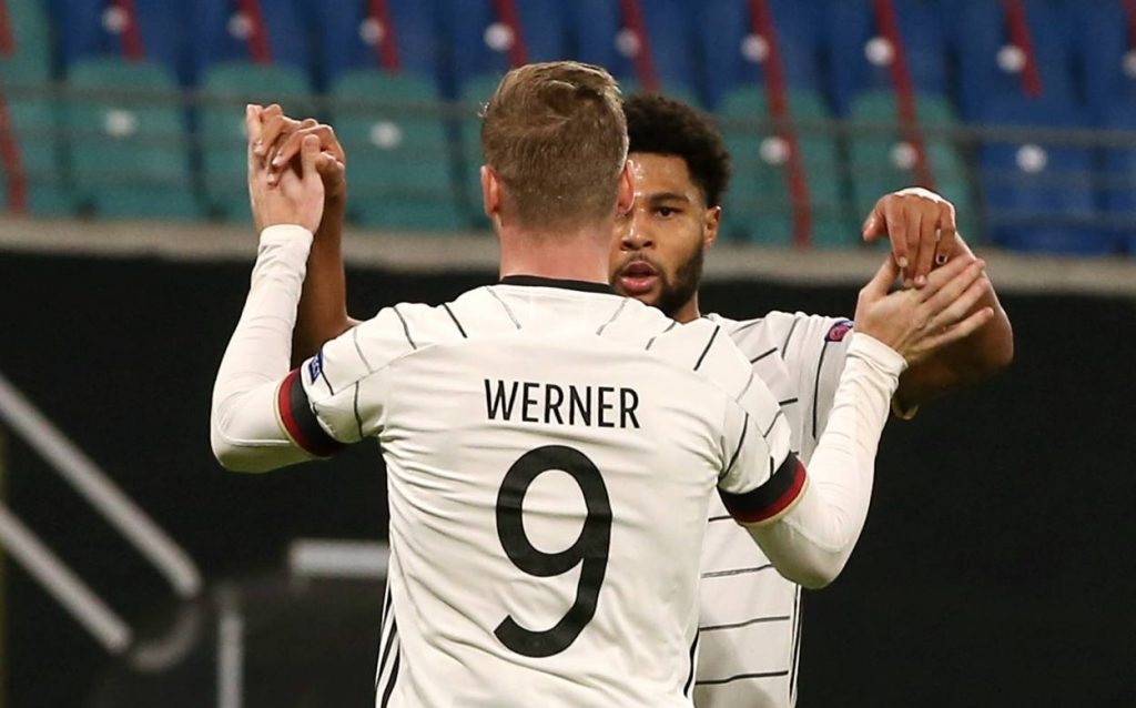 Timo Werner continues his scoring form for club and country