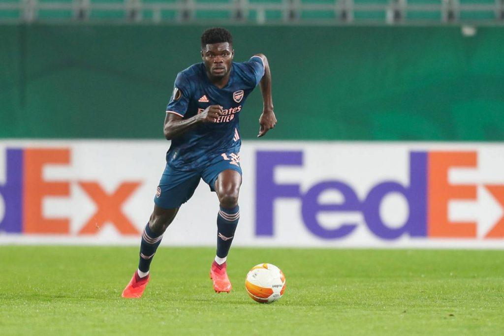 Adebayor advised Partey to snub Manchester United in favor of Arsenal