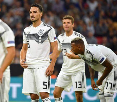 Nationalmannschaft Löw Hummels Müller