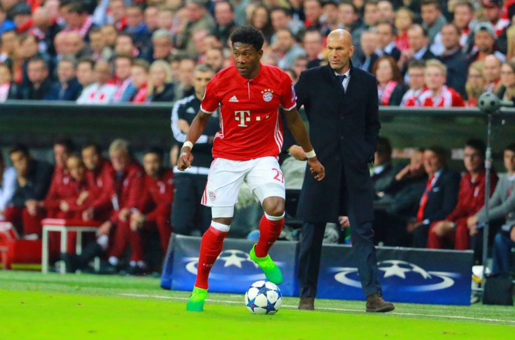 Alaba Transfer Real Madrid