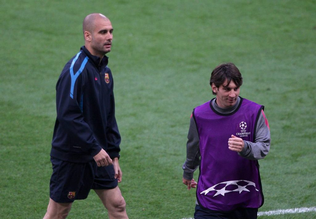 Pep Guardiola rules out Messi's move to Manchester City