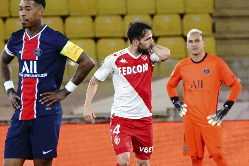 Niko Kovac's decision to introduce Fabregas proved to be the key in Monaco's win