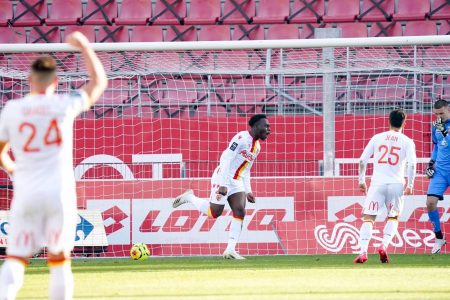 Arnaud Kalimuendo scored the winner in the first half as Lens beat bottom side Dijon to climb 9th in Ligue 1 standings.