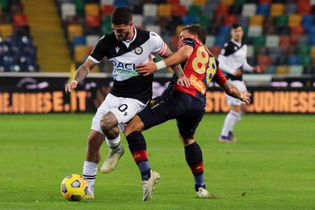 Rodrigo De Paul scored the winner as Udinese beat out-of-form Genoa 1-0 and climb 16th in Serie A standings.