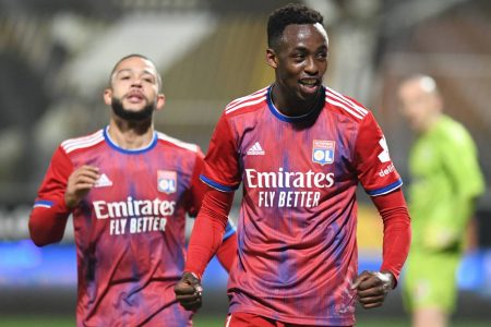 Tino Kadewere scored late winners as high-flying Lyon move third in Ligue 1 table with a narrow win over Angers.