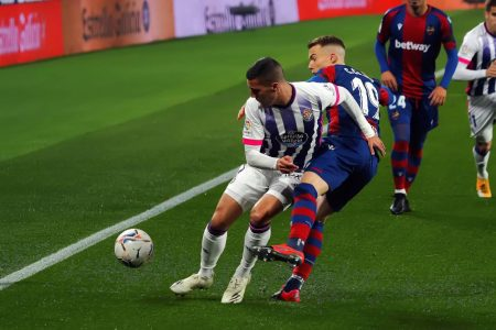 Jose Campana scored a late equaliser as out-of-form Levante rescue a point against Real Valladolid at José Zorrilla.