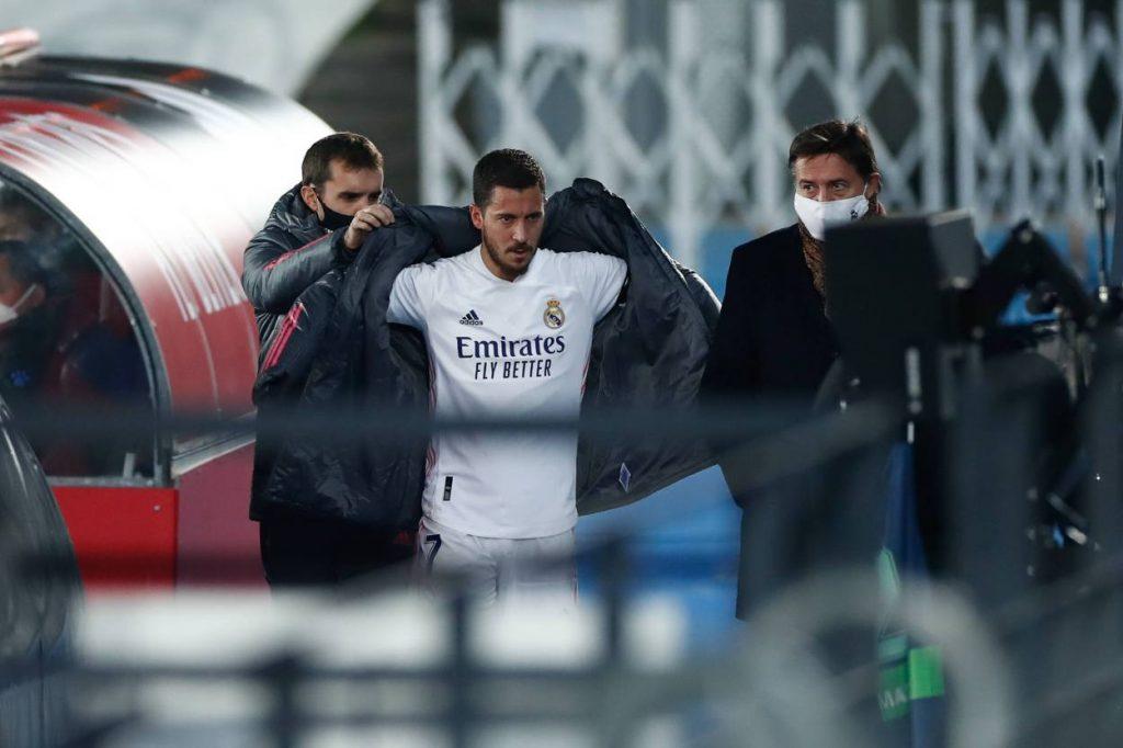 Eden Hazard started only 4 games for Los Blancos in 2020-21 season