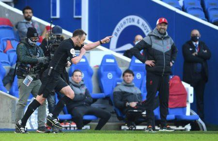 Despite dropping points against Brighton, Liverpool climb top of Premier League