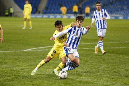 La Liga leaders Real Sociedad dropped point against in-form Villarreal as two first half penalties settled the tie.