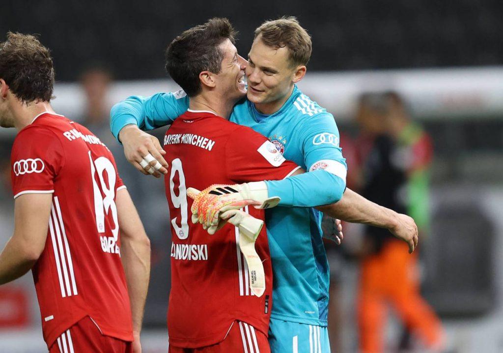 Lewandowski, Neuer, Bayern