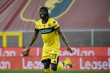 Gervinho scored twice as Parma register their second of the season with a narrow 2-1 win over out-of-form Genoa.