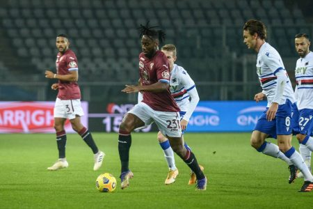 Andrea Belotti and Soualiho Meite on target as out-of-form Torino rescue a point at Sampdoria to move 18th in Serie A.