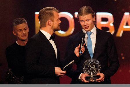 Manchester United manager Ole Gunnar Solskjaer confident that his fellow countryman Erling Haaland will quickly break his European record.