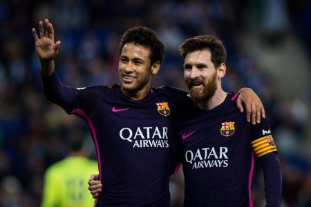 Neymar, Messi, Barcelona