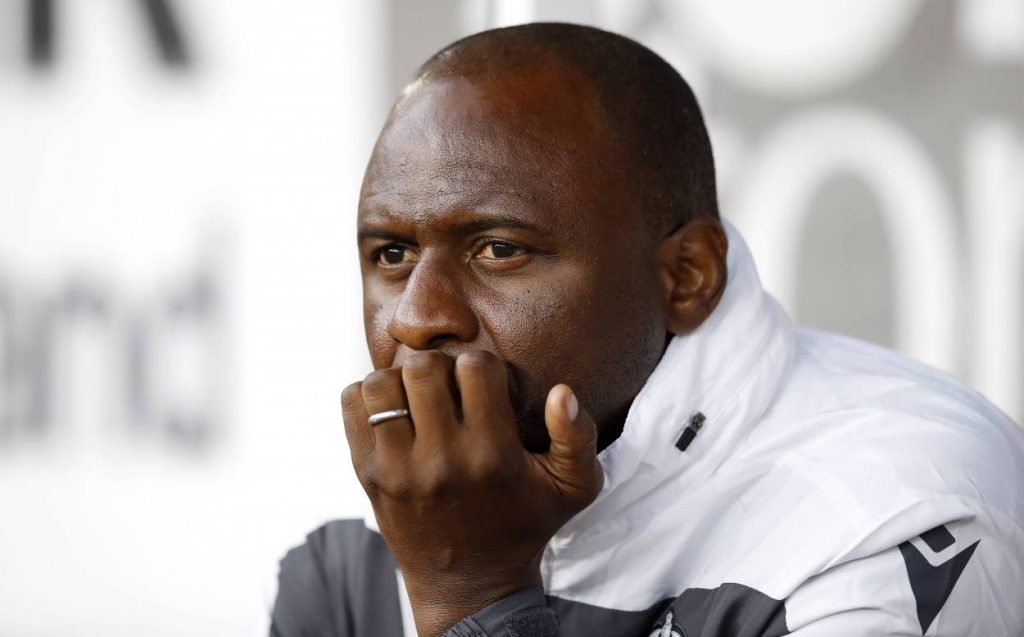 Patrick Vieira was in line to replace Unai Emery at the Emirates before Arteta took over