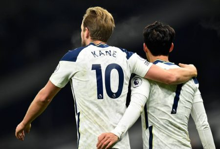Jose Mourinho was full of praise for world-class Harry Kane and Son Heung-min as the duo scored in London derby against Arsenal.