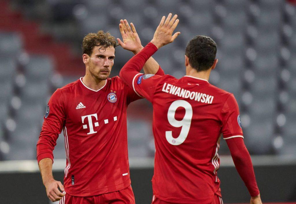 Goretzka, Lewandowski, Bayern