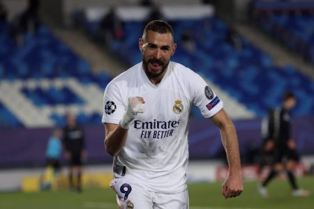 Real Madrid Gladbach Benzema
