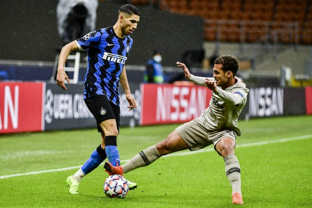 Champions League Inter Hakimi