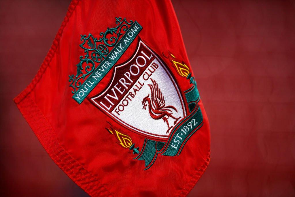 Das Vereinswappen des FC Liverpool.