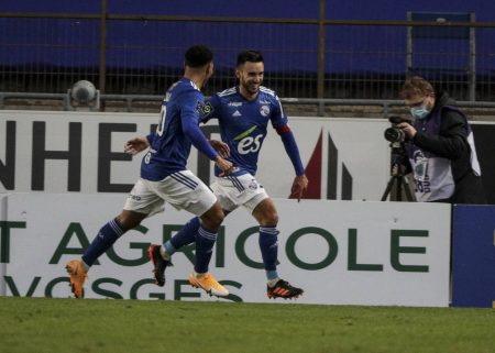 Adrien Thomasson scored a late equaliser as Ligue 1 newcomers Strasbourg salvaged a point against Metz at Stade de la Meinau.