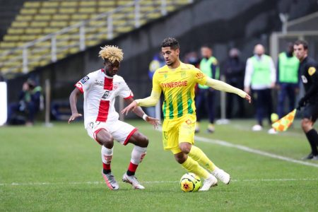 Pope Moussa Konate scored the equaliser in the second half as bottom club Dijon salvaged a point against Nantes.