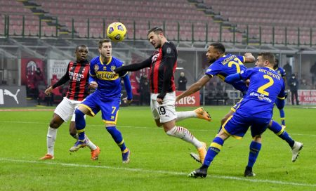 Theo Hernandez scored twice as AC Milan rescue a point against Parma and keep their unbeaten run in Serie A intact.