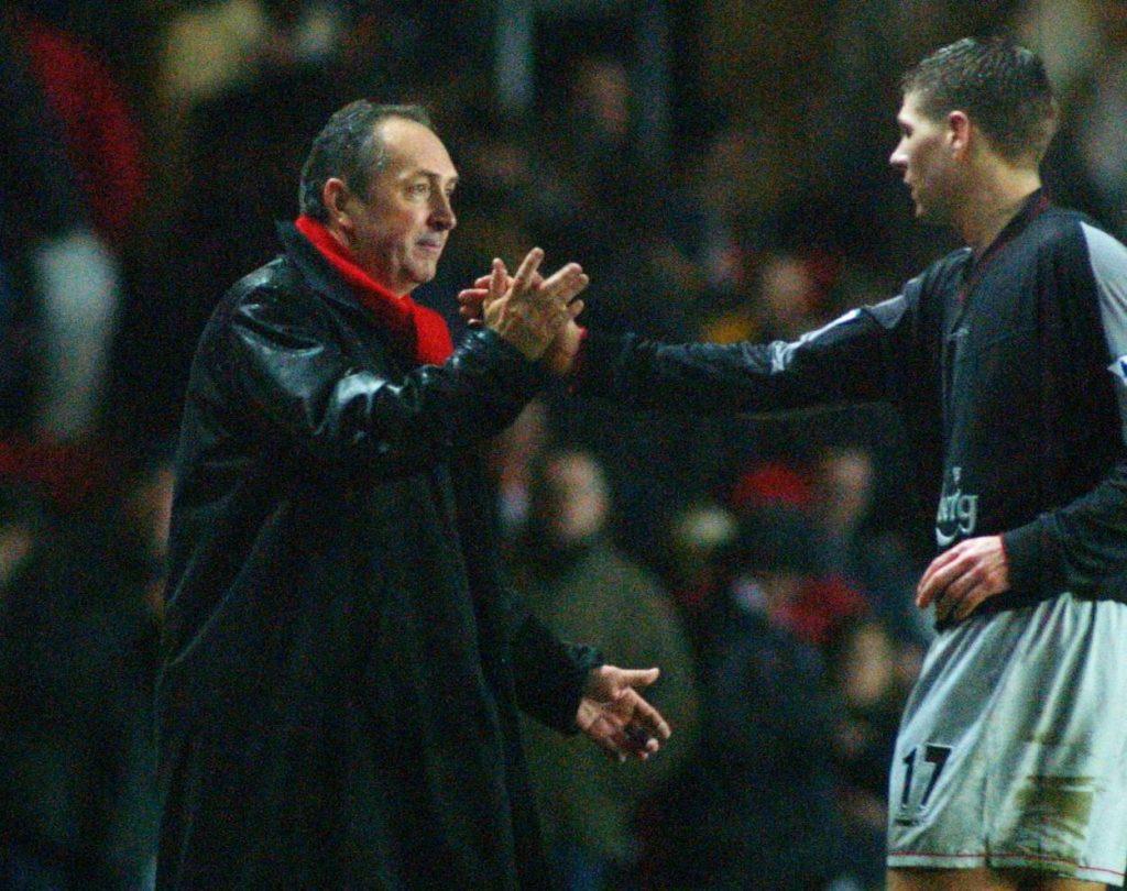 Houllier tot Klopp Gerrard
