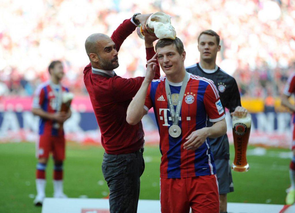 Kroos, Guardiola, Bayern