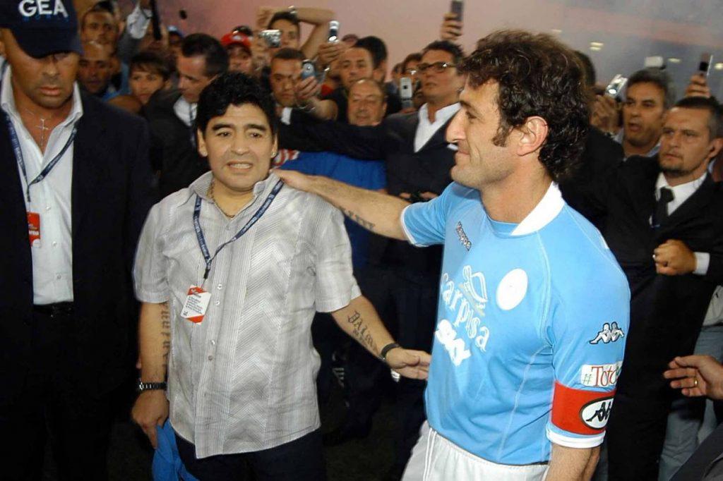 Maradona Tribut Ciro Ferrara