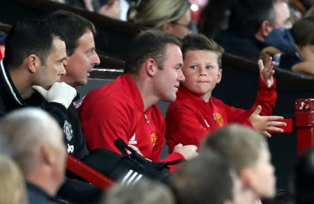 Wayne Rooney Sohn