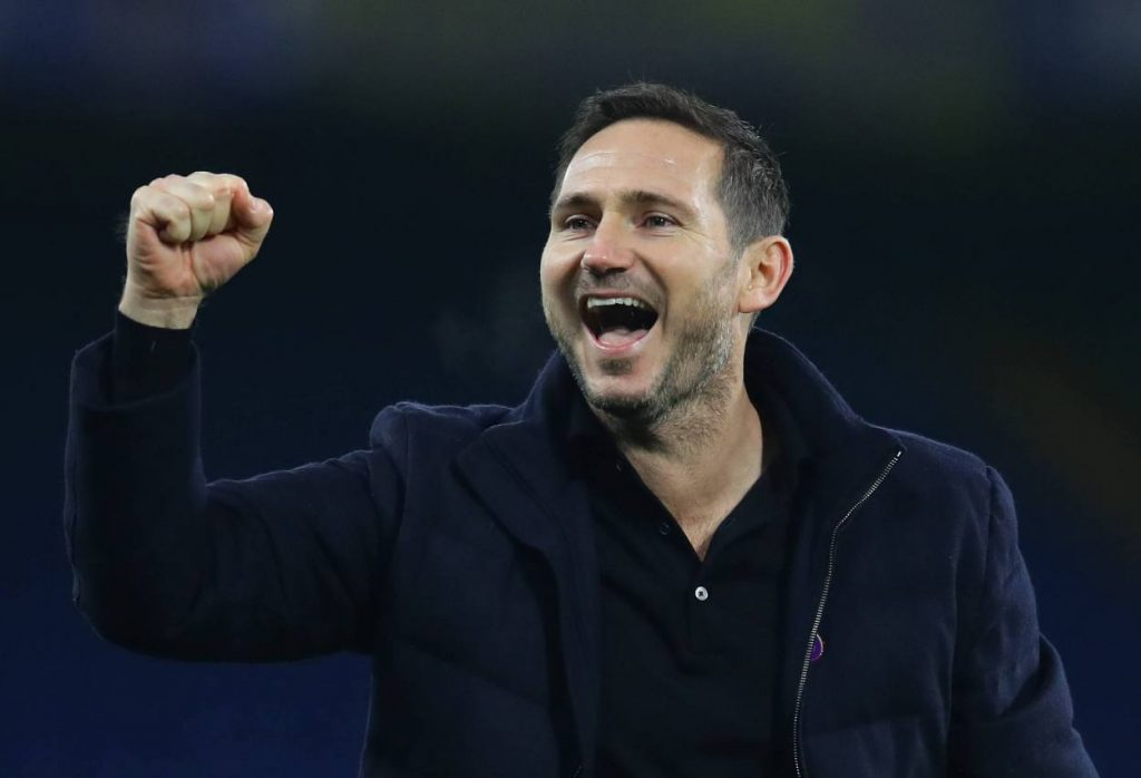 Lampard's men will welcome West Ham on Monday evening