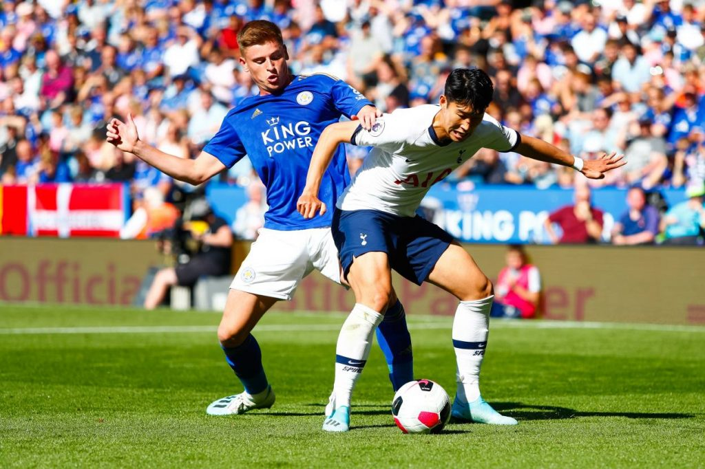 Tottenham have won five of their last seven Premier League meetings with Leicester (L2), netting 21 goals across these games
