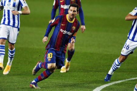 Messi, Barca