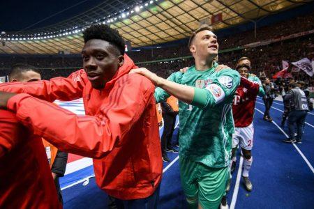 Davies, Neuer, Bayern