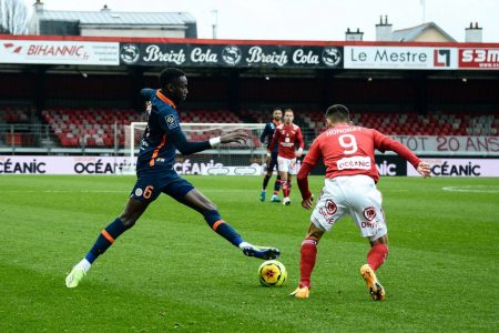 Brest and Montpellier played a 2-2 draw as both teams share a point. Brendan Chardonnet was on target for Brest.