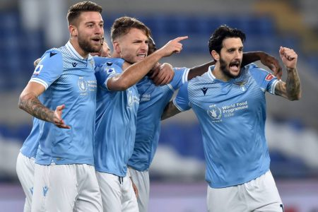 Ciro Immobile and Luis Alberto on target as Lazio beat Napoli 2-0 and move eighth in Serie A, leaving Napoli at fifth.